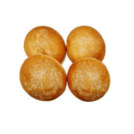 خبز برجر بالسمسم 4 حبة
