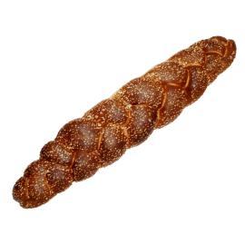 خبز فرنسي بالسمسم طويل