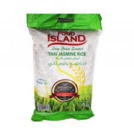 جزيرة الغذاء ارز تايلندي ياسمين 5 كجم