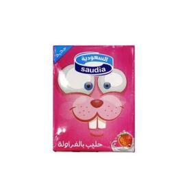 السعودية حليب فراولة 200مل