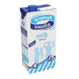 السعودية حليب كامل الدسم 1 لتر