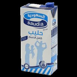 السعودية حليب كامل الدسم 2 لتر