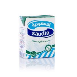 السعودية حليب خالي الدسم 200مل