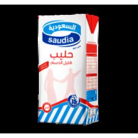 السعودية حليب قليل الدسم 1 لتر