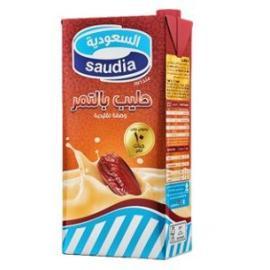 السعودية حليب بالتمر 1 لتر