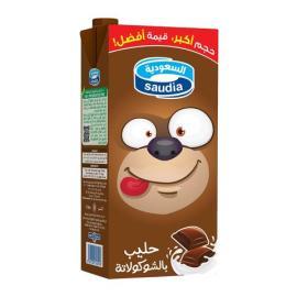 السعودية حليب شوكولاتة 1 لتر