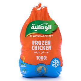 الوطنية دجاج مجمد 1000جم
