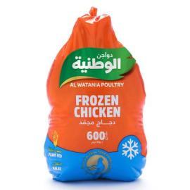 الوطنية دجاج مجمد 600جم