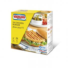 امريكانا برجر دجاج 24 حبة 1344جم