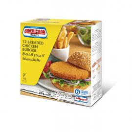 امريكانا برجر دجاج بالبقسماط 12 حبة 678جم