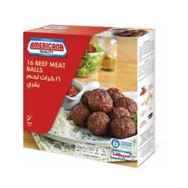 امريكانا كرات لحم بقري 400جم