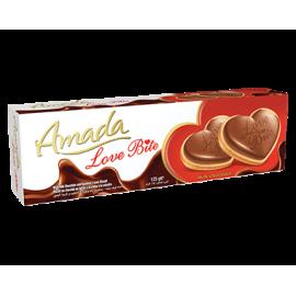 امادا لوف بايت بسكويت شوكولاتة 125جم