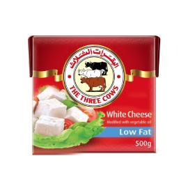 البقرات الثلاث جبنة بيضاء قليل الدسم 500جم