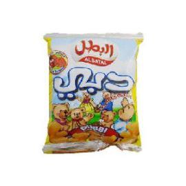 البطل دبي منتفخات ذرة طماطم  18جم