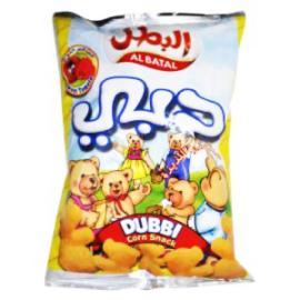 البطل دبي منتفخات ذرة طماطم 130جم