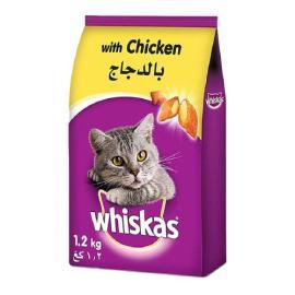 ويسكاس طعام قطط دجاج 1.2 كجم