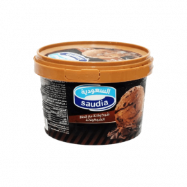السعودية ايس كريم شوكولاتة قطع 500مل