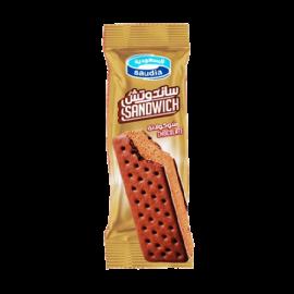 السعودية ساندوتش ايس كريم شوكولاتة 100مل