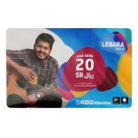 ليبارا بطاقة شحن 20