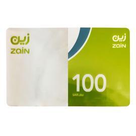 زين بطاقة شحن 100