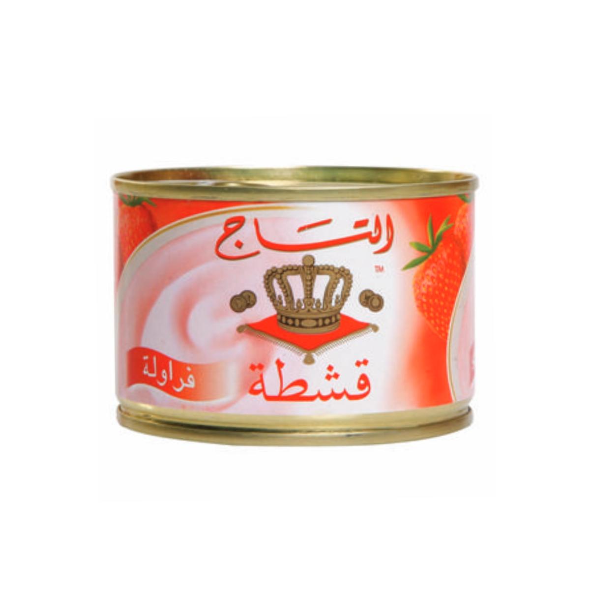 التاج قشطة فراولة 155جم